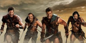 Spartacus by MightyGodOfThunder