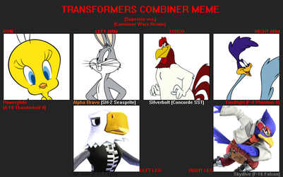 TF Combiner meme example (CW Superion) by FlainYesFourzeNo