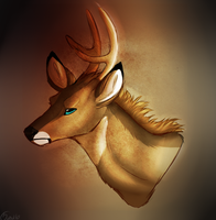 Generic Deer OC by phuckerrs