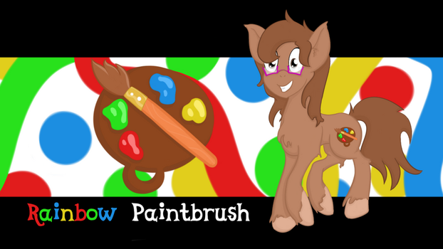 Rainbow Paintbrush by mrmayortheiv