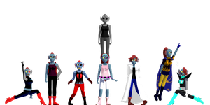Undyne Pack 1.0 by UltimateQuick