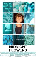 Midnight Flowers||Wattpad Cover|| by DaisyChan55