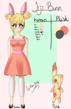 Jiji Bunn Reference  by Mewssii