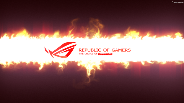 Republic of Gamers (Contest 2014 4K) by HingjonWallpapers