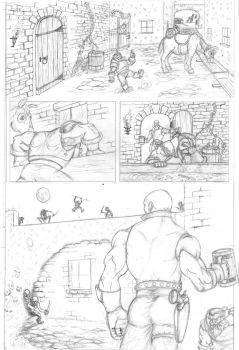 Skullkickers Contest pg. 1 by LipGlossary