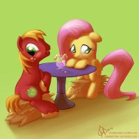 A date of shyness by MadderMike