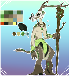 Nature Druid - CE 2k18 April by alleyballey