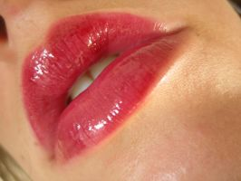 red lips by erykucciola-sToCk