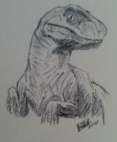 T-Rex by LoiseFenollCreation