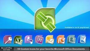 Microsoft Office Icon Suite by 878952