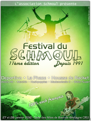 Shmoul festival flyer by Epoc22