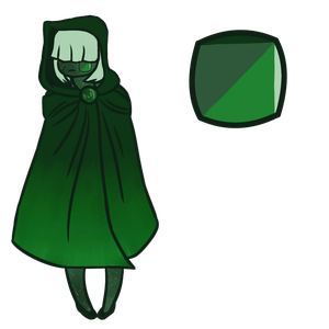 Mystery Gem Adopt - Green Goldstone by Shinigami--Apples
