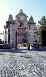 Buda Castle: Gates by ChatteArt