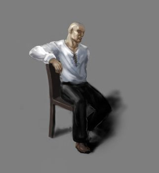 sitting dude by vilestyle