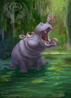Game Card Hippo by Azot2018