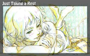 Just Taking a Rest (2012) by titanomaquia