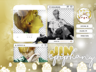 JIN | BTS | PACK PNG | EPIPHANY by KoreanGallery