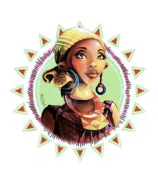 African Lady by Noha-ElGendi