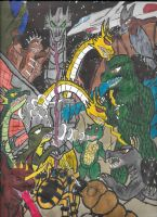 Destroy All Monsters tribute by TheZackBurg