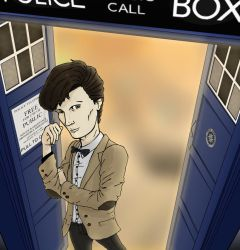 Doctor in the Tardis by Gazzit
