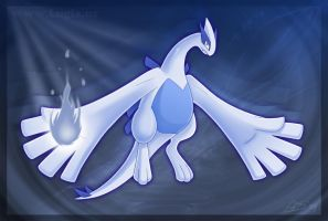 Lugia's Silver Soul by Articuno