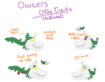 Fright Light Restricted Traits by RoyalSwirls