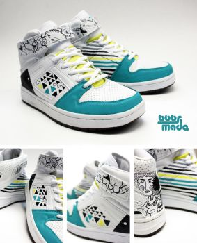 Mie Sneaker _look like DUNKS by Bobsmade