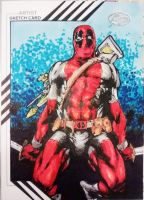 Marvel Fleer Retro - Deadpool by BREED72
