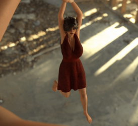 Dangling Animation Test by Flagg3D