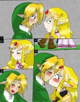 OoT LinZel Speechless Page by Dialirvi