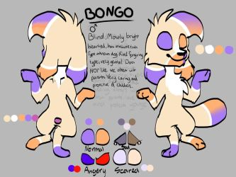 Bongo (with bad spelling) by BoltingblueBB