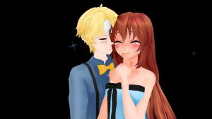 MC x Yoosung uwu by Alex-MMD-Studios