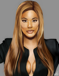 Laverne Cox by lepidopteras