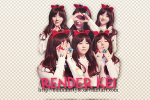 [140215] Render Kei #2 by HunhanStyle