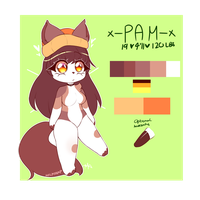 REDESIGNED PAM REF by milktrap