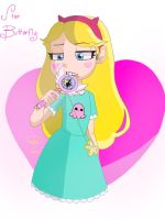 Star Butterfly by pdcdraws