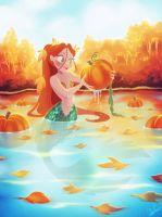 Autumn Mermaid by DylanBonner