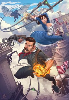 Bioshock Infinite by PatrickBrown