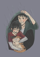 rainy day by hiraco