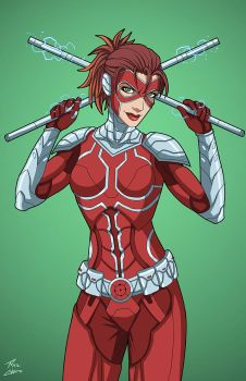 Manhunter (Earth-27) commission by phil-cho