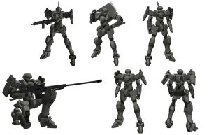 M9 Gernsback -poses- by Illsteir