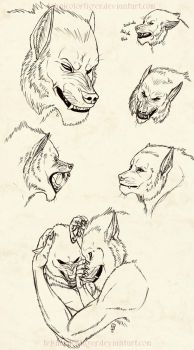 Hayden Wuff Expressions by TeknicolorTiger