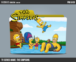 The Simpsons folder icon by kasbandi