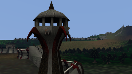 Coastal Watchtowers (South Wall) by LordKaizen