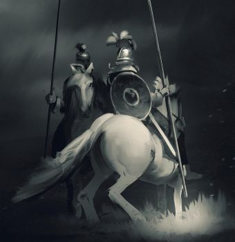Knight speedpaint 03 by NewmanD