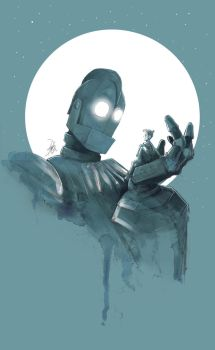 The Iron Giant by JohnDevlin