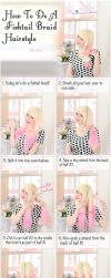 How To Do A Fishtail Braid - Hairstyle Tutorial by VioletLeBeaux