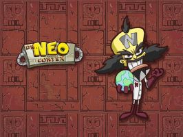 Dr Neo Cortex Wallpaper by E-122-Psi