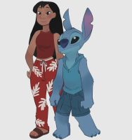 lilo and stitch by yinller
