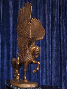 Winged Horse, full right side by reedymanedkelpie